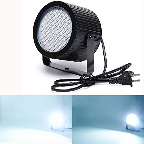 Boulder DJ LED Flash light Strobe Light for Parties Disco Sound-Activated Flash Rate Adjustable 88 White LED 20W Super Bright Halloween Christmas Birthday Party Stage Flash Lighting Children's day]()