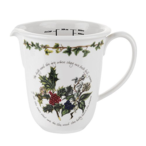 Portmeirion The Holly & The Ivy Measuring Jug (Ivy Jug)