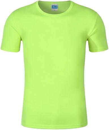 NOBRAND Wicking T -Camisa Cuello Redondo Respirable De Los ...