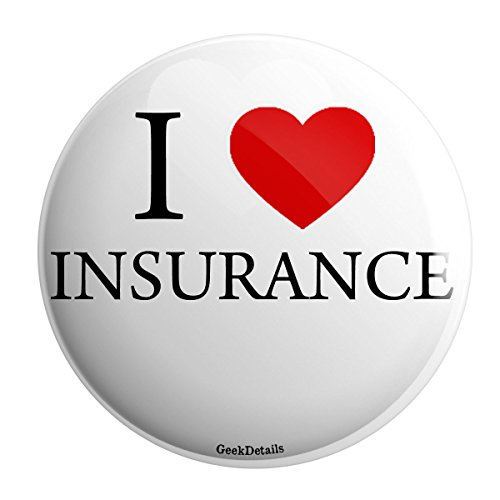 Geek Details I Love Insurance Pinback Button