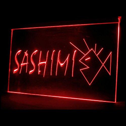 - 110103 Sashimi Sushi Bar Japanese Food Miso Soup Display LED Light Sign