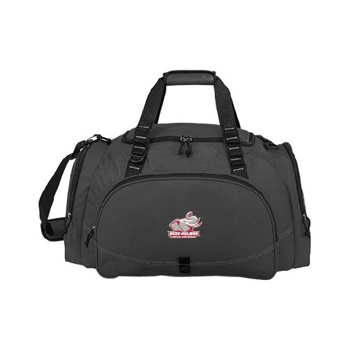Rose Hulman Challenger Team Charcoal Sport Bag 'Official Logo' by CollegeFanGear