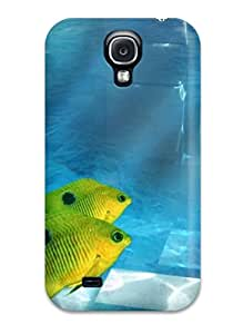 LLOYD G ENGLISH's Shop Cheap Faddish Phone Cool Yellow Fish Case For Galaxy S4 / Perfect Case Cover