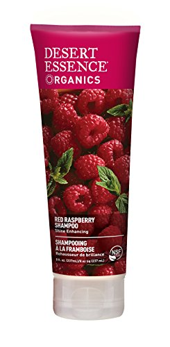 Desert Essence Organics Hair Care Shampoo, Red Raspberry, 8 Ounce