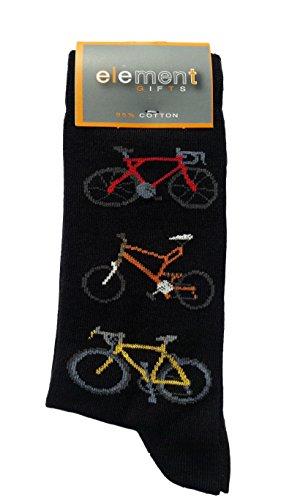 Bicycles Cottonrich Unisex Novelty Ankle Socks Adult Size 6-11 ()