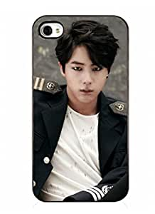 BTS Cellphone Case Bangtan Boys The Red Bullet Phone Cover First Solo Concert (JIN iPhone 5/5s White)