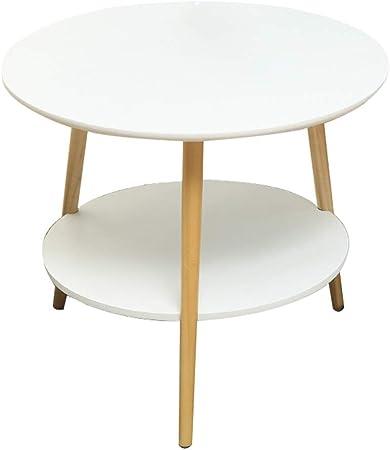 Wz Table D\'appoint Bois, Blanche Jardin Table Deux Couches ...