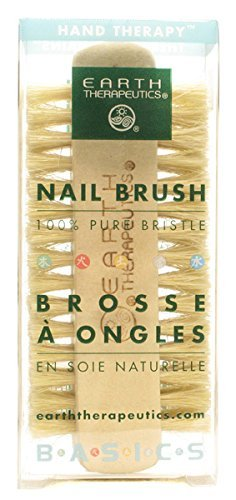 Brush Earth Nail Professional Therapeutics - Earth Therapeutics Genuine Bristle Nail Brush, 1 Un by Earth Therapeutics
