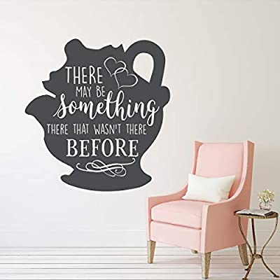 Mrs. Potts Decal - Beauty and the Beast Wall Decoration - There May Be Something There That Wasn't There Before - Bedroom Decor: Handmade
