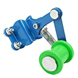 Sanlan Motorcycle Link Length Modified Chain Tensioner Adjuster green