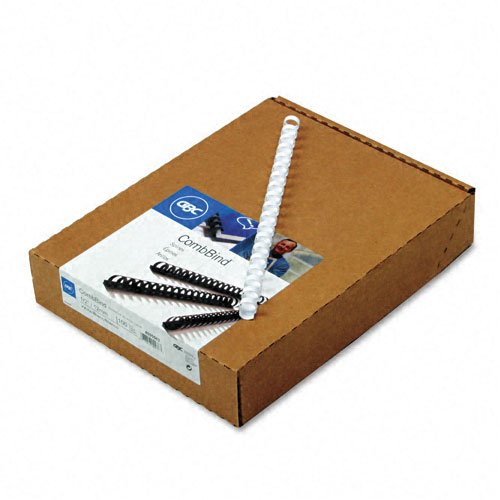 Spines, 0.5-Inch Spine Diameter, White, 90 Sheet Capacity, 100 Spines  (4000062) ()