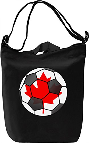 Canada Football Borsa Giornaliera Canvas Canvas Day Bag| 100% Premium Cotton Canvas| DTG Printing|
