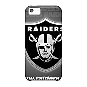 Fashion Protective Oakland Raiders Case Cover For Iphone 5c