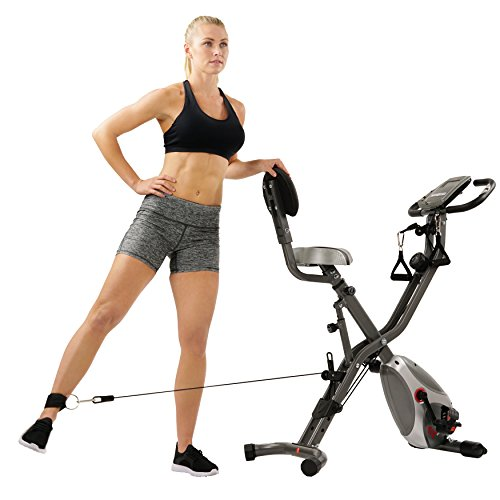 Sunny Health & Fitness Foldable Semi Recumbent Magnetic