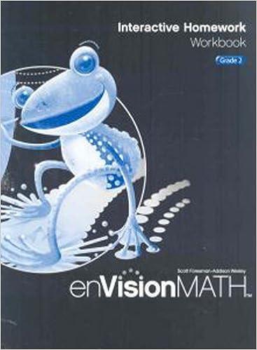 enVision Math: Interactive Homework Workbook, Grade 2: Scott ...