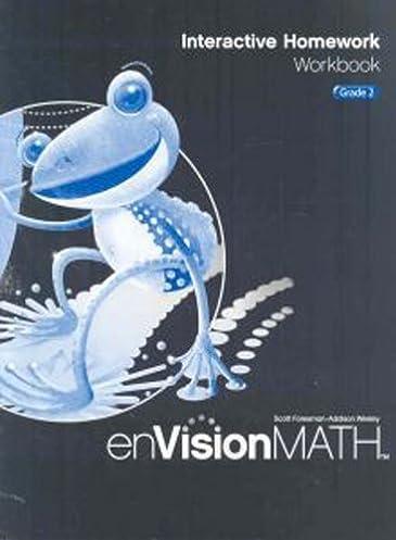 math worksheet : envision math interactive homework workbook grade 2 scott  : Envision Math Grade 2 Worksheets