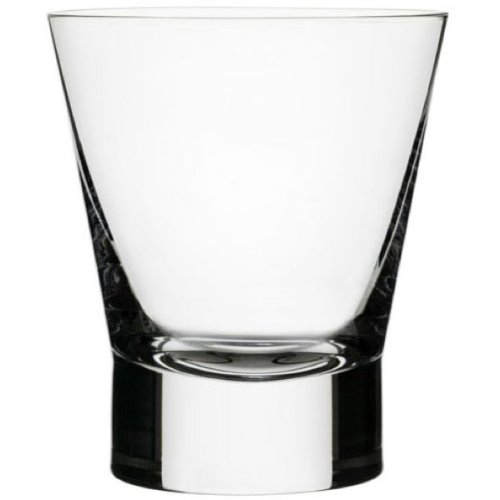 Iittala Aarne 12-Ounce Double Old Fashioned Glass, Set of Two