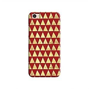 Cover It Up - Gold Triangle Tile V5 Plus Hard Case