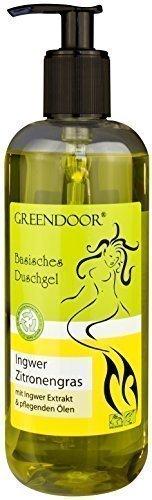 500ml Greendoor Basisches Duschgel Ingwer Zitronengras, biologisch abbaubar,