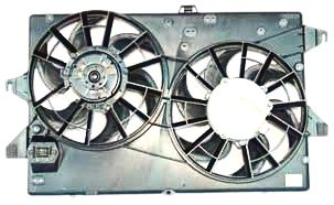 TYC 620750 Ford/Mercury Replacement Radiator/Condenser Cooling Fan - Mercury Car Radiator Cougar Auto