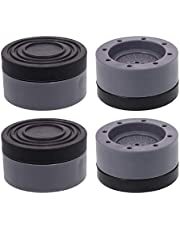 4pcs Washing Machine Foot Pad, Anti-Vibration Pad, Anti-Skid Pad, Washing Machine Stand That Eliminates Vibration and Noise, Suitable for All Washing Machines and Dryers