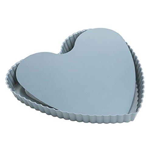 Fox Run Bottom Rectangular Tart/Quiche Pan, many sizes available. Heart pan - 44341