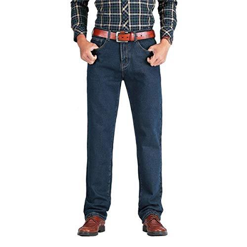 In Especial T Autunno Jeans Alta 2018 Dritto Uomo Blackblue Primavera Da Classico Cotone Estilo Pantaloni EOE0Tva1q