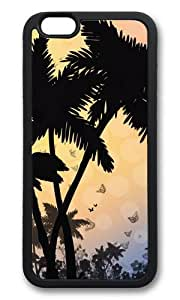 iPhone 6 Plus Case,VUTTOO iPhone 6 Plus Cover With Photo: Tropical Escape For Apple iPhone 6 Plus 5.5Inch - TPU Black