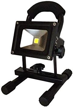 Alverlamp LPRO10BAT - Proyector batería led 10w 4000k: Amazon ...