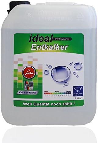 5 litros descalcificador para cafeteras automáticas Jura® Café ...