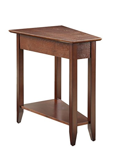 Convenience Concepts American Heritage Wedge End Table, Mult
