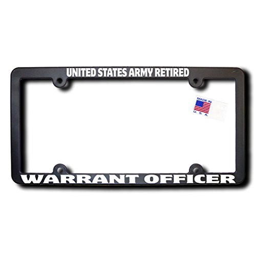United States Army Retired WARRANT OFFICER License ()