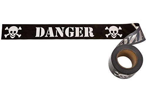 TorxGear Kids Pirate Birthday Party Tape - Black
