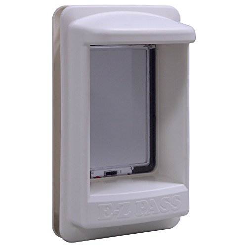 Ideal Pet Products E-Z Pass Electronic Pet Door, Medium, 7