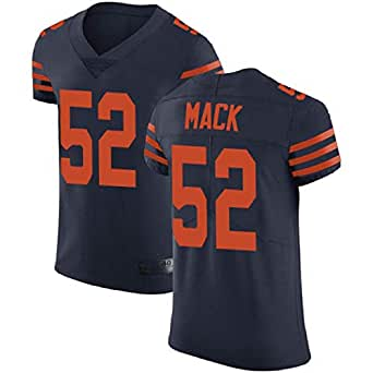 Lionel Buck 2018-2019 Chicago Bears #52 Oakland Raiders Khalil Mack Navy Blue Alternate Men's Stitched Vapor Untouchable Elite Jersey Pro Bowl (L)