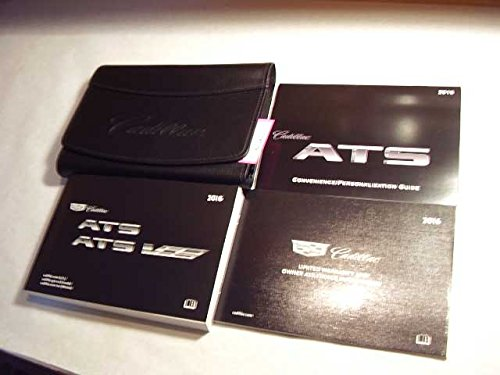 2016 Cadillac ARS ATS-V Owners Manual