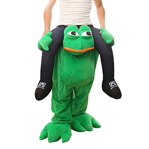Carry Me Ride on Riding Shoulder Adult Costume Easter Mascot (Mascot Costumes)