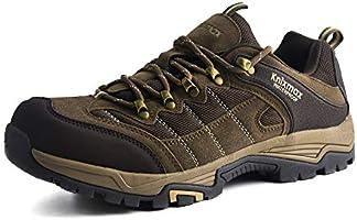 Knixmax Chaussures de Randonnée Imperméable Chaussure de Marche Respirant Antidérapant Bottes de Trekking Baskets de...
