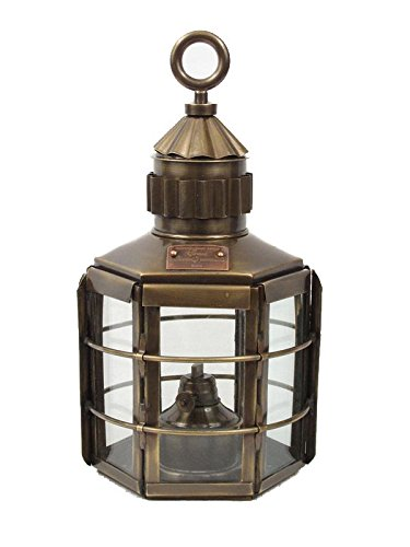 Vermont Lanterns Brass Clipper - Nautical Ship Lamp (13
