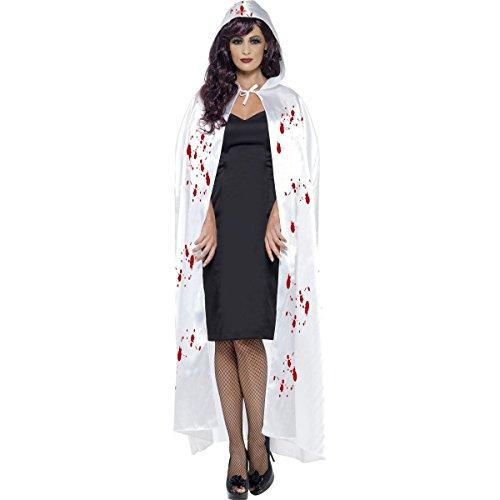 Carnage Halloween Costumes (Smiffys Blood Splatter Hooded Cape)