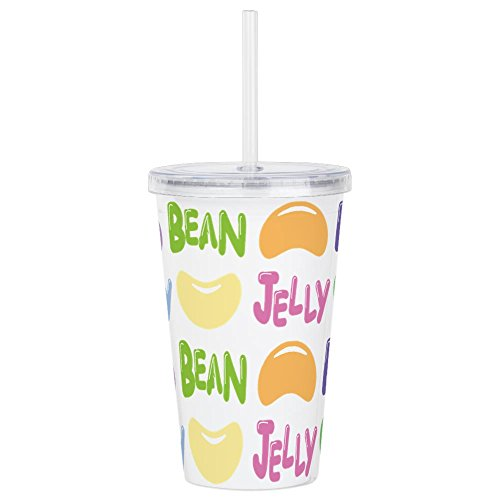 CafePress - Jelly-Beans.Png - Insulated Straw Cup, 20oz Acry