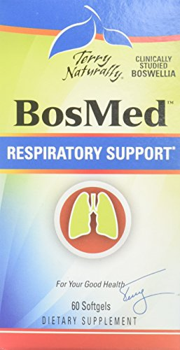 Terry Naturally BosMed Respiratory Support – 60 Softgels