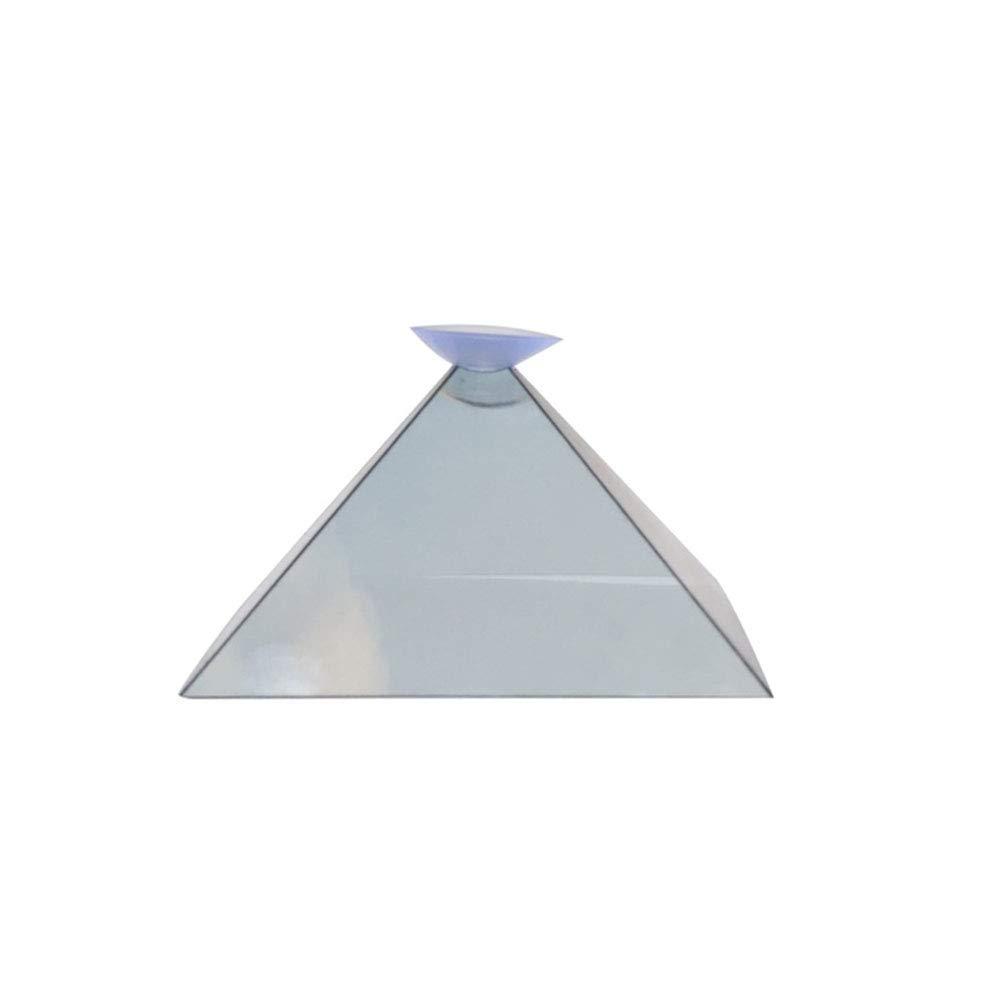 ZREAL Soporte de Video con proyector de pirámide y Pantalla de ...