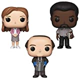Funko TV: Pop! The Office - Pam Beesly, Darryl Philbin, Kevin Malone with Chili