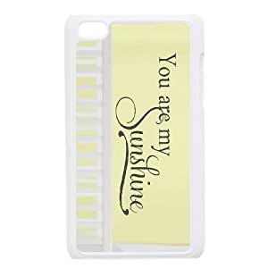 iPod Touch 4 Phone Cases White You Are My Sunshine FSG528252