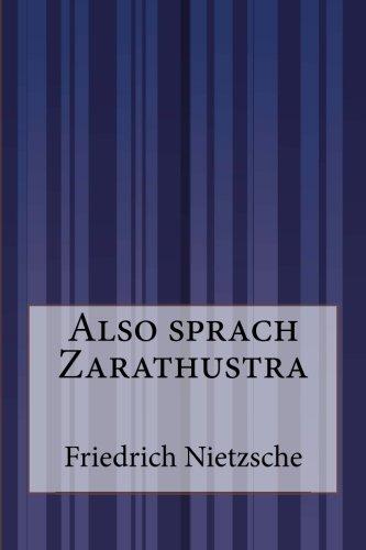 Read Online Also sprach Zarathustra (German Edition) pdf