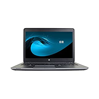 "HP EliteBook 840 G1 14"" Laptop, Core i5-4300U 1.9GHz, 8GB Ram, 500GB SSD, Windows 10 Pro 64bit (Renewed)"