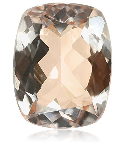 Morganite 10x8mm Cushion Cut Loose Gemstone by Amazon Collection (Image #1)