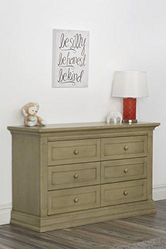 Driftwood Pull (Suite Bebe Dakota 6 Drawer Double Dresser- Driftwood)