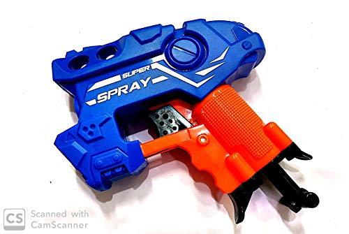 Negi Manual Super Spray Soft Bullet Gun with 3 Bullets